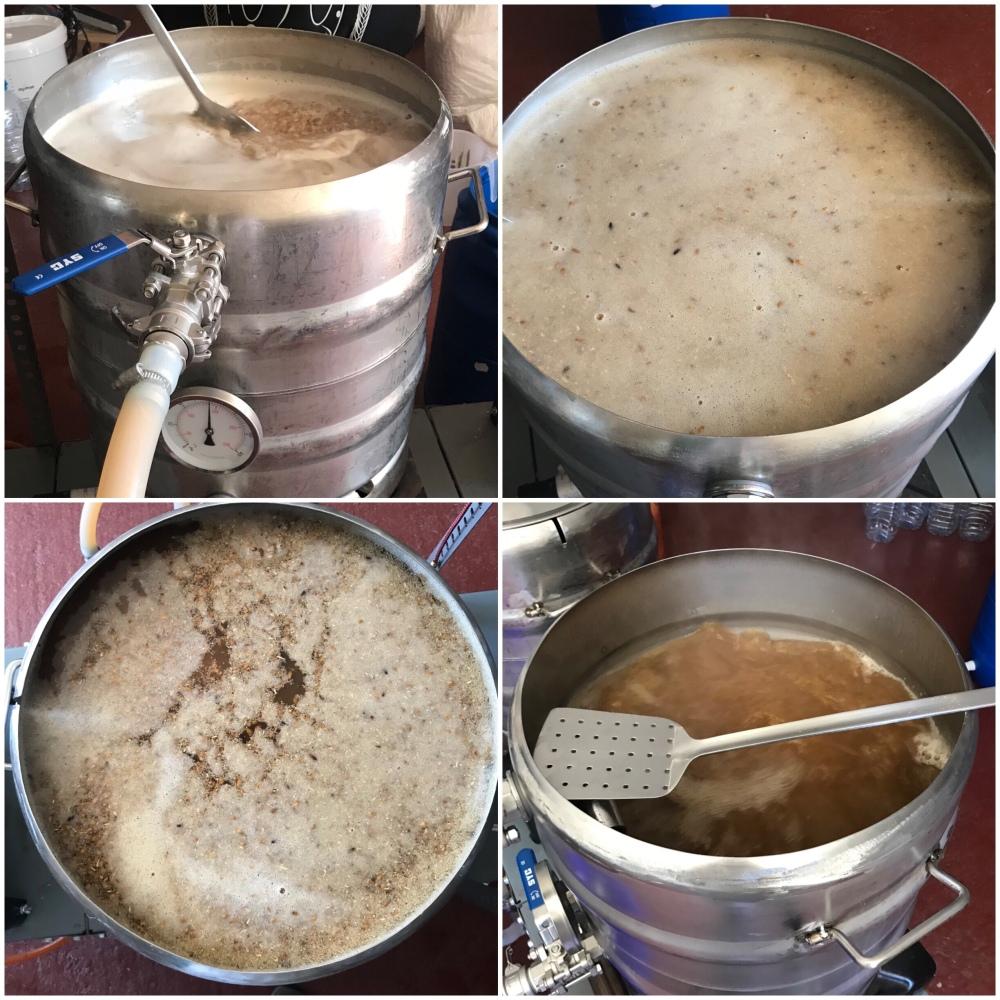 Macerado y cocción de la receta